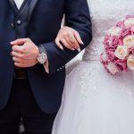 gli sposi non sono soddisfatti del banchetto nuziale